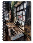 Victorian Workshops Spiral Notebook