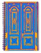 Victoriandoorpopart Spiral Notebook
