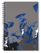 Victoriano Huerta Emilio Madero And Pancho Villa On The Right Ciudad Chihuahua May 1912-2014 Spiral Notebook