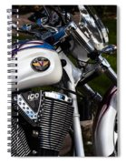 Victory 100 Cubic Inches Spiral Notebook