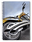Victory Motorcycle 106 Vertical Spiral Notebook
