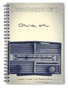 Video Killed The Radio Star Spiral Notebook