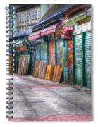Vienna Naschmarkt Spiral Notebook