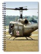 Vietnam Medevac Copter 369 Spiral Notebook