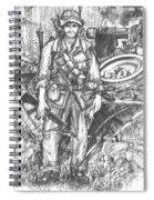 Vietnam Soldier Spiral Notebook