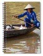 Vietnamese Boatwoman 01 Spiral Notebook