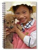 Vietnamese Girl 02 Spiral Notebook