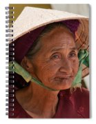 Vietnamese Lady Spiral Notebook
