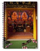 Vietnamese Temple Shrine Spiral Notebook