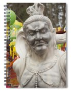 Vietnamese Temple Statue Spiral Notebook