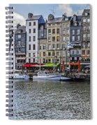 Vieux Bassin Of Honfleur Spiral Notebook