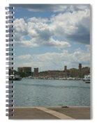 Vieux Port View Marseille Spiral Notebook