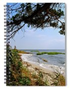 View At East Point  Spiral Notebook
