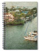 View At Fort Myers Beach - Florida Spiral Notebook