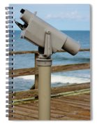 View Finder At The Beach Spiral Notebook