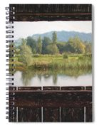 View From A Hide Impressions Spiral Notebook