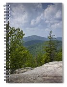 View From A Mountain In A Vermont Spiral Notebook