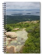 View From Cadillac Mountain - Acadia Park Spiral Notebook