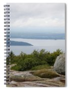 View From Cadillac Mountain Spiral Notebook