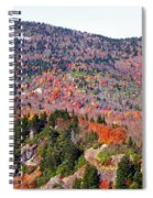 View From Devil's Courthouse 3 Spiral Notebook