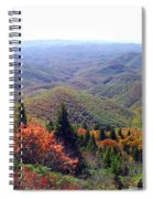 View From Devil's Courthouse Mountain Spiral Notebook