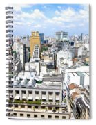 View From Edificio Martinelli - Sao Paulo Spiral Notebook