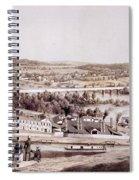 View From Gambles Hill, Richmond Spiral Notebook