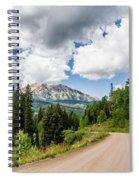 View From Kebler Pass Spiral Notebook