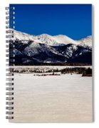 View From Meadow Creek Resevoir Spiral Notebook