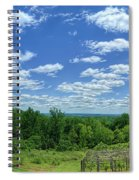 View From Monticello Spiral Notebook