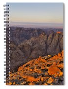 View From Mount Sinai Spiral Notebook