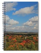 View From Mt Auburn Cemetery Tower Spiral Notebook