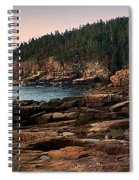 View From Ocean Drive Maine Spiral Notebook