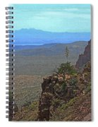 View From Parker Creek Canyon Spiral Notebook