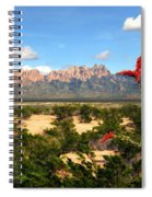 View From Roadrunner Spiral Notebook