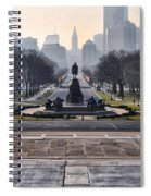 View From Rocky's Footsteps Spiral Notebook
