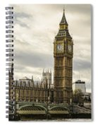 View From Southbank Spiral Notebook