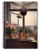 View From The Artist's Window Spiral Notebook