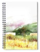View From The Beach Spiral Notebook