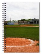 View From The Dugout Spiral Notebook