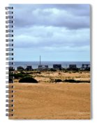 View From The Dunes Spiral Notebook