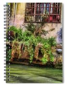 View From The Grand Canal China Spiral Notebook