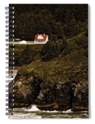 View From The Keeper's House Spiral Notebook