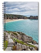 View From The Minack Theatre Spiral Notebook