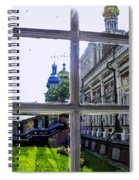 View From The Novodevichy Convent - Russia Spiral Notebook