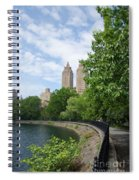 View From The Park West Side Spiral Notebook