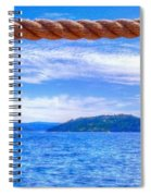 View From The Resort 6799 Spiral Notebook