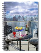 View From The Terrace Spiral Notebook