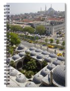 View From The Valens Aqueduct In Istanbul Spiral Notebook