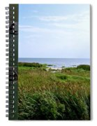 View From The Window At East Point Light Spiral Notebook
